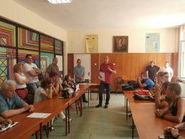 Награждаване на шампионите - СУ Георги Бенковски - Плевен