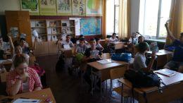Проект Активни и позитивни в борбата с вредните навици - СУ Георги Бенковски - Плевен